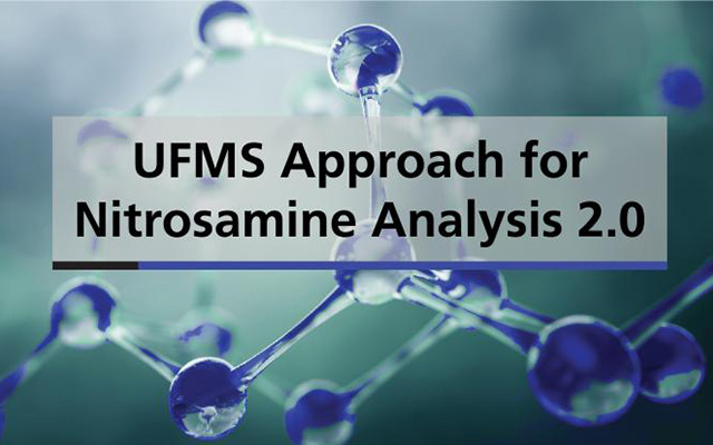 UFMS approach for Nitrosomines Analysis